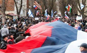 'Russian Spring' in the city of Kharkiv, March 2014