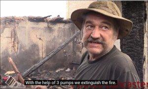 Shelling of Donetsk Aug 27, 2015 (YouTube)