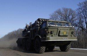 A Ukrainian Smerch rocket system (Petr David Josek, AP)