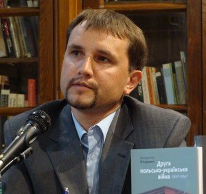 Volodymyr Viatrovych, appointed director of Ukraine's Institute for National Memory in March 2014 (Wikipedia)