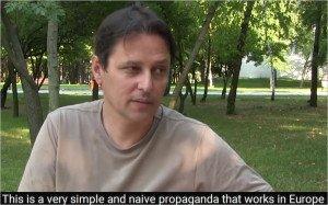 Interview with Laurent Brayard in Donetsk, Sept 2015