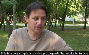 Interview with Laurent Brayard in Donetsk, Sept 2015