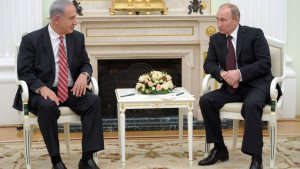 Presidents Netanyahu and Putin meet in Moscow Sept 2015