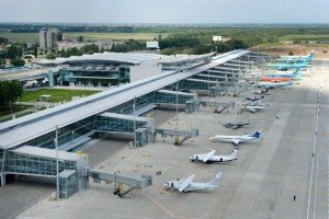 Boryspil Airport near Kyiv, Ukraine's largest airport