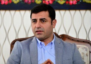 Selahattin Demirtas, 42, co-chairman of the HDP party in Turkey
