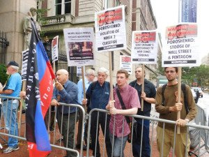 Solidarity action in New York, Sept 29, 2015 (photo by Anne Pruden)