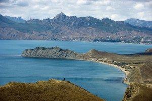 Town of Koktebel on Black Sea coast of Crimea (Sergey Malgavko, RIA Novosti)