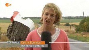 German ZDF's Katrin Eigendorf