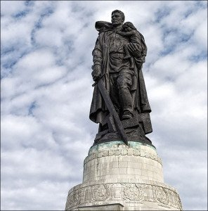 Liberator Soldier Monument in Berlin, copy of which stood in Mielec, Poland until Nov 2015 dismantlement