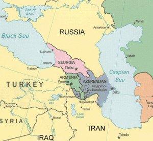 Map Russia-Turkey