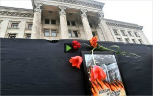 Monthly commemorations honor the victims of the May 2, 2014 massacre in Odessa, Ukraine