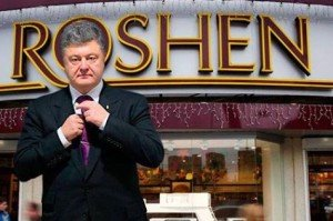Petro Poroshenko is the owner of the Roshen candy congomerate
