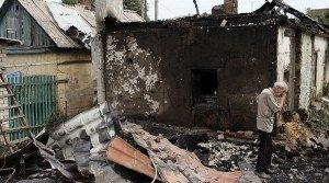 Shelling damage in Donetsk in August 2015 (Alexander Ermochenko, Reuters)