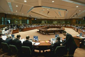 All show at a meeting of the European Council