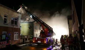 Arson attacks in Germany against immigrant hostels are up 11-fold in 2015 compared to 2014 (DPA)