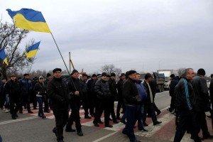Farmers in Ukraine block roads protesting rising taxes, Dec 2015