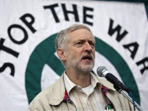 Jeremy Corbyn, leader of the Labour Party and past convener of the Stop The War coalition (photo by Rex)