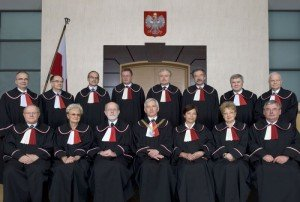 Members of Poland's Supreme Court