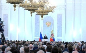Presidential address to the Russian Federal Assembly, Dec 3, 2015 (photo on website of the Kremlin)