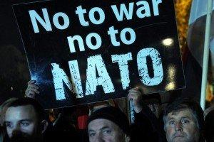 Rally in Montenegro capital city Podgorica on Dec 12, 2015 (AFP)