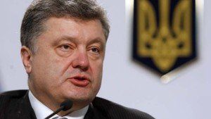 The 'chocolate king' Petro Poroshenko, began his business career in cocoa (photo by AFP)