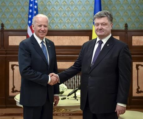In Ukraine, U.S. vice president announces more U.S. money...