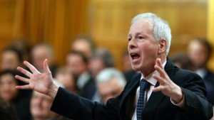 Canadian Foreign Minister Stéphane Dion speaking to the House of Commons in Ottawa on Jan 27, 2016 (Fred Chartrand, Canadian Press)