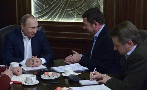Interview with German newspaper Bild Jan 5, 2016 (photo from website of president of Russia)