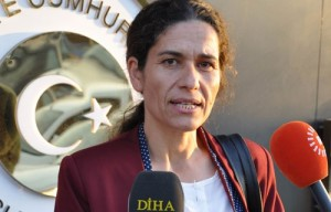 İlham Ehmed, co-president of the Syrian Democratic Council (MSD)
