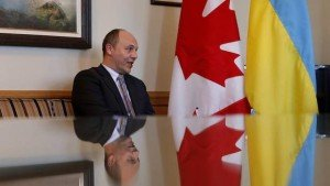 Andriy Parubiy in Ottawa, Feb 23, 2015 (Chris Wattie, Reuters)