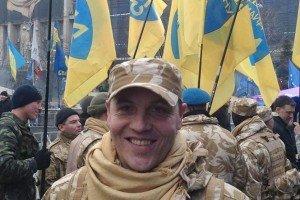 'Commander' Andriy Paruiby on Maidan Square, Feb 2014