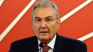 Deniz Baykal, former leader of the conservative CHP party in Turkey