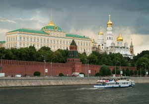 The Kremlin, seat of Russia's government in Moscow