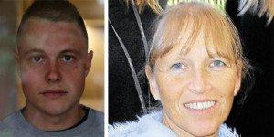 Tim Lauschet, son of Gabriele Lauschet (right), a schoolteacher killed in the MH17 crash