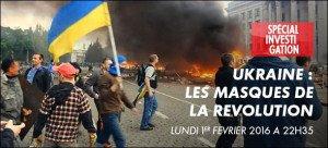 Ukraine - 'Les Masques de la Révolution'