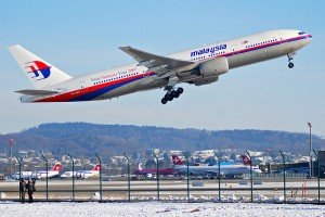 A Malaysia Airways' Boeing 777 like the one that crashed in eastern Ukraine on July 17, 2014