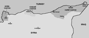Kurdish cantons of northern Syria