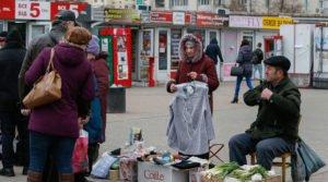 A street market in Kyiv (Gleb Garanich, Reuters)