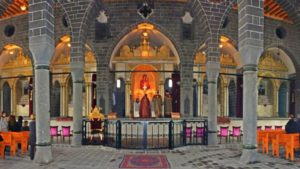 Interior of Armenian Surp Giragos Church, seized by Turkish government in March 2016