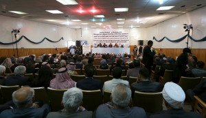 Political conference in Rimelan, northern Syria on March 16, 2016 discussing 'Federal Democratic System for Rojava and Northern Syria', March 16, 2016 (Rodi Said, Reuters)