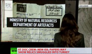 RT exclusive ISIS 'Department of Artifacts' document exposes antique loot trade via Turkey