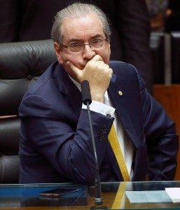 Speaker of Brazil's congress, Eduardo Cunha (Dida Sampaio, via AP)