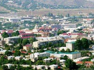 Stepanakert (Khankendi), capital city of Nagorno Karabach Armenian region in Caucasus