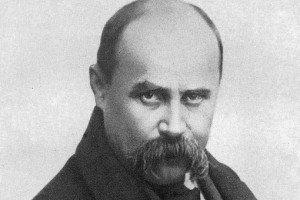 Taras Shevchenko, revered national poet of Ukraine, 1814-1861