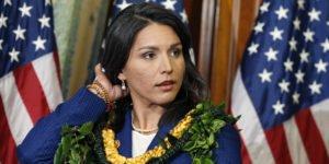 Congresswoman Tulsi Gabbard of Hawaii has sought to block funding of U.S. regime change war in Syria (Scott Applewhite, AP)