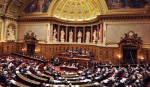 French Senate in session