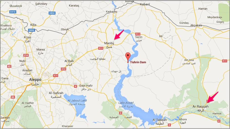 Syria Forces Launch Offensive To Take Manbij Pocket Near