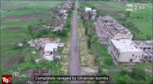 RAI television in Italy reports on Ukraine war