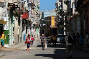 Street scene in Havana in July 2015 (photo by Noah Friedman-Rudovsky, Getty Images)