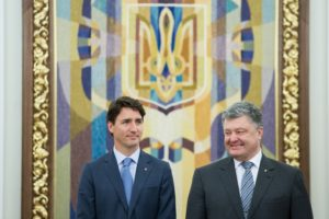 Canadian Prime Minister Justin Trudeau in Kyiv on July 11, 2016 (PMO photo by Adam Scotti)